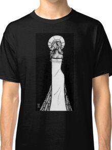 Woman pen sketch Classic T-Shirt
