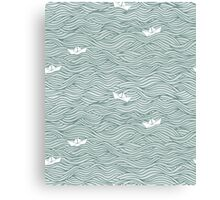 Little Paperboats Canvas Print