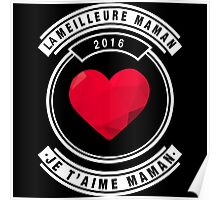 je t'aime maman Poster