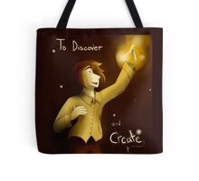 To Discover and Create Tote Bag