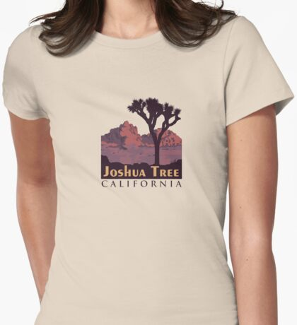 Joshua Tree National Park. Womens Fitted T-Shirt