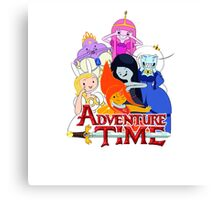 adventure time team together Canvas Print