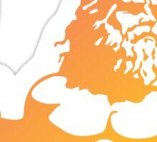 King Neptune Pink/Orange Sticker