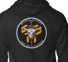 Macross Quarter S.M.S. Skull Platoon Zipped Hoodie