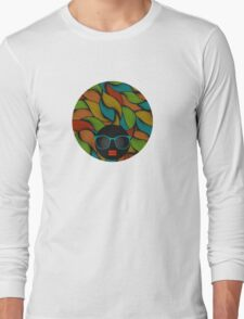 Colorful hair Long Sleeve T-Shirt