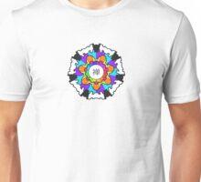 Chan Symbol Rainbow Contrast Unisex T-Shirt