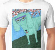 hipster dachshund Unisex T-Shirt