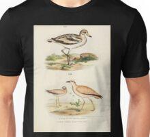 Bilder atlas zur Wissenschaftlich populären Naturgeschichte der Vögel in ihren sämmtlichen Hauptformen Leopold Joseph Fitzinger 1864 113 Unisex T-Shirt