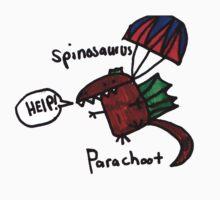 Parachoot Spinosaur One Piece - Long Sleeve