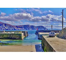 The Tide is Out at the Harbour Photographic Print
