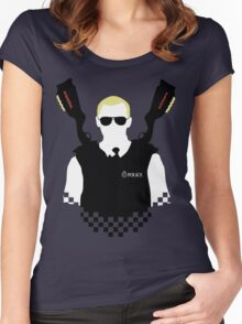 Here Come The Fuzz Women's Fitted Scoop T-Shirt