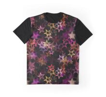 Stars Pattern Graphic T-Shirt