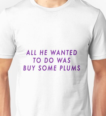 Bucky and his Plums Unisex T-Shirt
