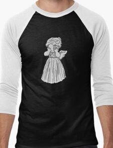 Don't Cry, Li'l Angel Men's Baseball ¾ T-Shirt