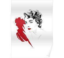 Red Liz Poster