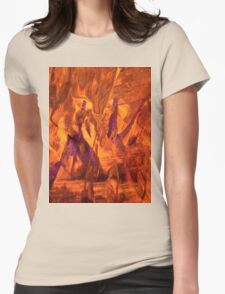 Fort McMurray, Alberta, Canada Womens Fitted T-Shirt