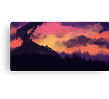 Prevailed for a Long Time Canvas Print