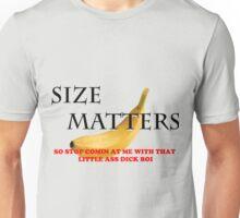 Size Matters funny banana Unisex T-Shirt
