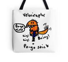 Pogo Velociraptor Tote Bag