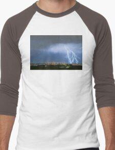 Northeast Colorado Lightning Strike and City Lights Men's Baseball ¾ T-Shirt