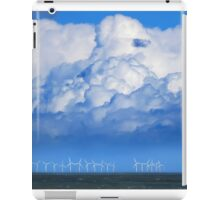 Wind Farm in the Channel iPad Case/Skin