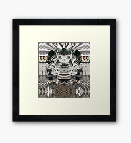 Eco Siko. Framed Print