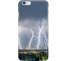 Severe Thunderstorm Panorama iPhone Case/Skin