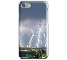 Severe Thunderstorm Panorama iPhone Case/Skin