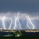 Severe Thunderstorm Panorama by Bo Insogna