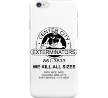 WE KILL ALL SIZES - Crimewave iPhone Case/Skin