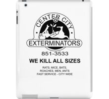 WE KILL ALL SIZES - Crimewave iPad Case/Skin