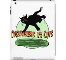 CUCUMBERS VS CATS!! iPad Case/Skin