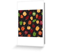 Life of spice and color Greeting Card