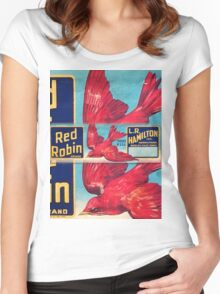 Red Robin Women's Fitted Scoop T-Shirt