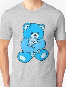 teddy bear hug skyblue Unisex T-Shirt
