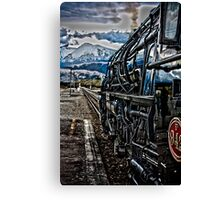Whistle Stop Canvas Print