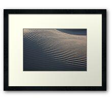 Coastal Dunes Framed Print