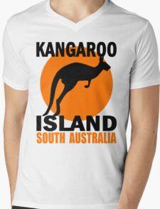 KANGAROO ISLAND Mens V-Neck T-Shirt