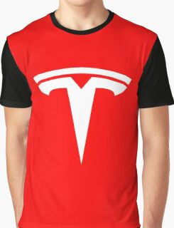 Tesla Logo Graphic T-Shirt