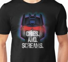 Soundwave - Cries And Screams Unisex T-Shirt