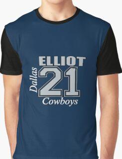 Ezekiel Elliot Dallas Cowboys Graphic T-Shirt