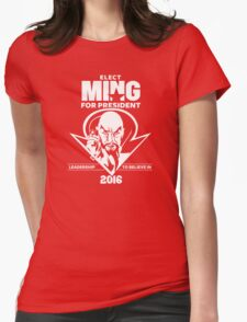 Ming for President Womens Fitted T-Shirt