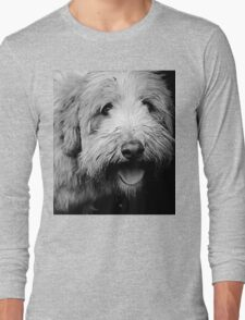 Portrait in Black & White Long Sleeve T-Shirt