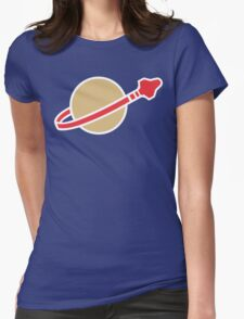 Lego Classic Space Womens Fitted T-Shirt