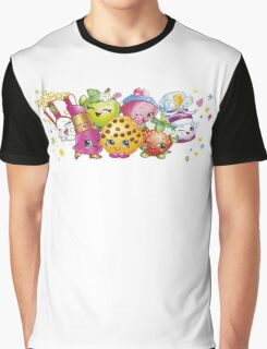 Shopkins lineup Graphic T-Shirt