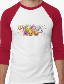 Shopkins lineup Men's Baseball ¾ T-Shirt