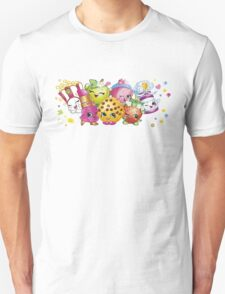 Shopkins lineup Unisex T-Shirt