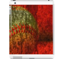 Baseball Abstract iPad Case/Skin