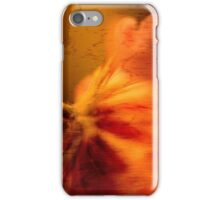 Abstract Stem and Flower iPhone Case/Skin