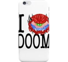 i love doom iPhone Case/Skin